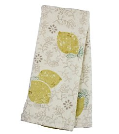 Farmhouse Lemon Print Kitchen Towel