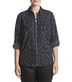 MICHAEL Michael Kors Plus Size Shooting Stars Top