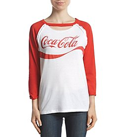 Freeze Coca-Cola Baseball Sleeve Tee