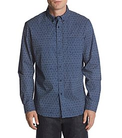 John Bartlett Consensus Men's Dotted Button Down Shirt