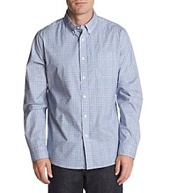 John Bartlett Consensus Men's Jacquard Stretch Button Down