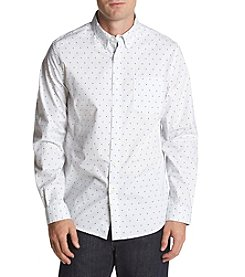 John Bartlett Consensus Men's Polka Dot Stretch Button Down