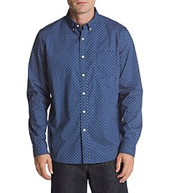 John Bartlett Consensus Men's Star Print Stretch Button Down