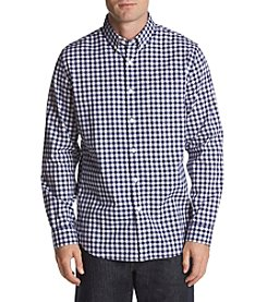 John Bartlett Consensus Men's Checked Stretch Button Down