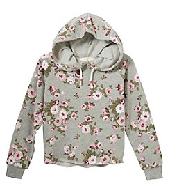 no comment Girls' 7-16 Print Hoodie