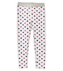 Carter's Girls' 2T-4T Heart Print Leggings
