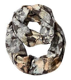V. Fraas Monet Floral Loop Scarf