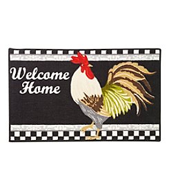 Nourison Welcome Home Rooster Rug
