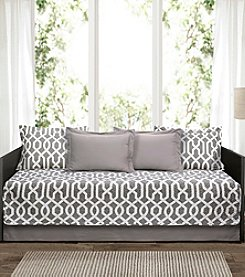 Lush Decor Edward Trellis 6-Piece Daybed Cover Set