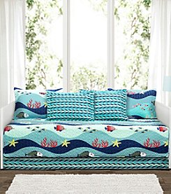 Lush Decor Sea Life 6-Piece Daybed Cover Set