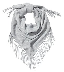 Vince Camuto Woven Fringe Muffler Scarf