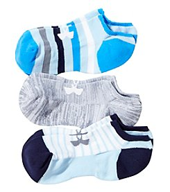Under Armour 3-Pack No Show Socks