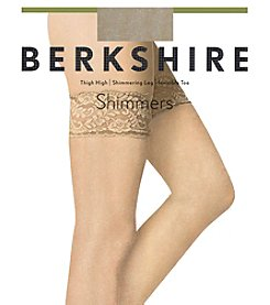 Berkshire Lace Top Shimmers Thigh High Stockings