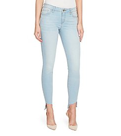 William Rast Ankle Asymmetrical Seam Cuff Skinny Jeans