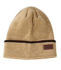 Levi's Leather Patch Knit Cuff Beanie