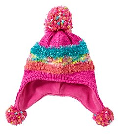 Miss Attitude Girls' Popcorn Blocked Helmet Hat