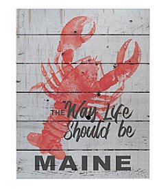 Kindred Hearts Maine Lobster Wall Decor