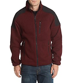 IZOD Men's Sweater Fleece Jacket
