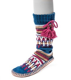 MUK LUKS® Women's Slipper Socks with Tassels