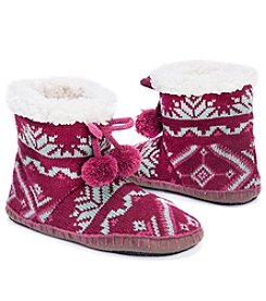 MUK LUKS® Women's Bootie Slippers