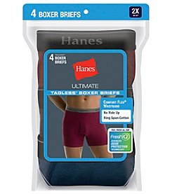 Hanes Big & Tall 4 Pack Boxer Briefs