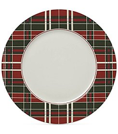 Lenox Holiday Plaid Set of 4 Dinner Plates