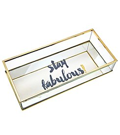 Philip Whitney Stay Fabulous Mirror Tray