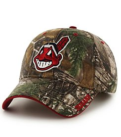 Fan Favorite MLB® Cleveland Indians Mass Realtree Frost Cap