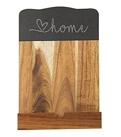 Cathy's Concepts Love Home Slate & Acacia Tablet Recipe Stand