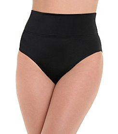 Trimshaper High Waist Swim Suit Bottoms