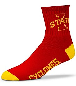 For Bare Feet NCAA® Iowa State Cyclones Men's 501 Quarter Length Socks