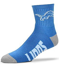 For Bare Feet NFL® Detroit Lions Men's 501 Quarter Length Socks