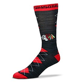 For Bare Feet NHL® Chicago Blackhawks Men's Fan Nation Crew Socks