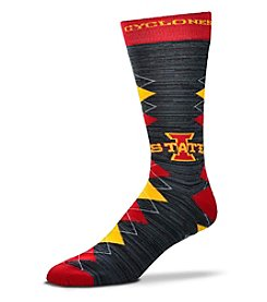 For Bare Feet NCAA® Iowa State Cyclones Men's Fan Nation Crew Socks