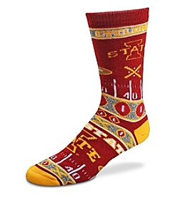 For Bare Feet NCAA® Iowa State Cyclones Men's Graphic Crew Socks