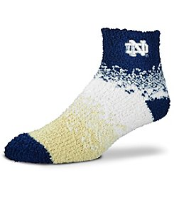 For Bare Feet NCAA® Notre Dame Fighting Irish Men's Soft Sleep Marquee Socks