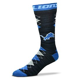For Bare Feet NFL® Detroit Lions Men's Fan Nation Crew Socks