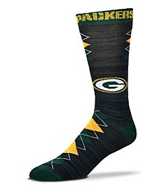 For Bare Feet NFL® Green Bay Packers Men's Fan Nation Crew Socks