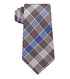 John Bartlett Statements Men's Box Plaid Tie