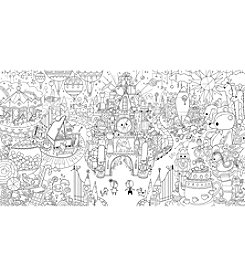 FAO Schwarz 5-Ft. Coloring Poster
