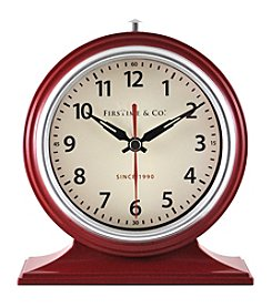 FirsTime Red Colorfully Table Clock