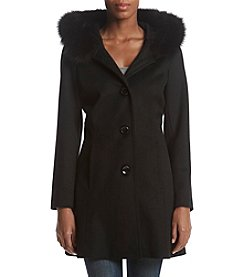 Forecaster Faux Fur Trim Walker Coat