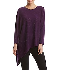 Anne Klein Stud Detail One Sleeve Poncho