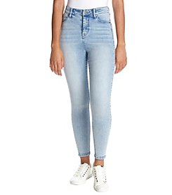 Celebrity Pink High Rise Acid Wash Skinny Jeans