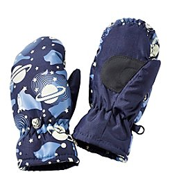 Statements Boys 2T-4T Outerspace Mittens