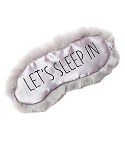 Collection 18 Faux Fur Let's Sleep In Eyemask
