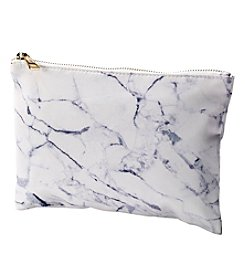 Collection 18 Marble Print Cosmetic Pouch