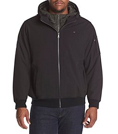 Tommy Hilfiger Men's Big & Tall Softshell Hooded Jacket