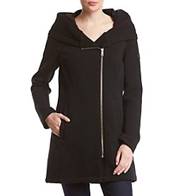 Calvin Klein Asymetrical Hooded Jacket