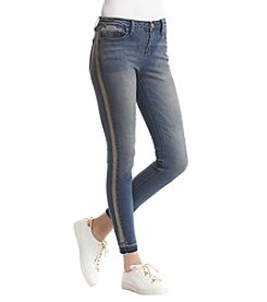 Kenneth Cole Studded Skinny Jeans